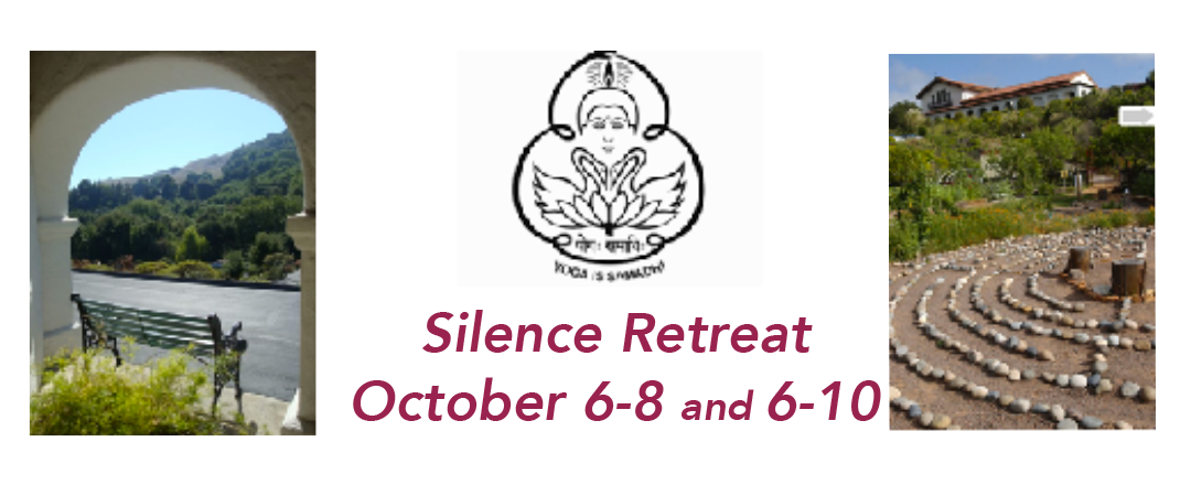 Silence Retreat October 2017